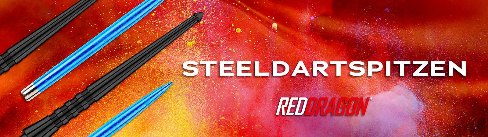 Red Dragon Steeldartspitzen