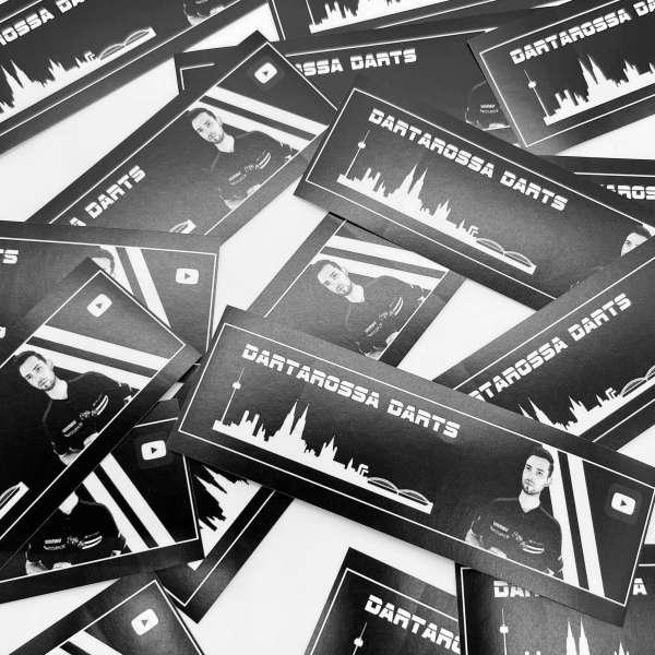 DartSturm.de - Dartarossa Darts Aufkleber