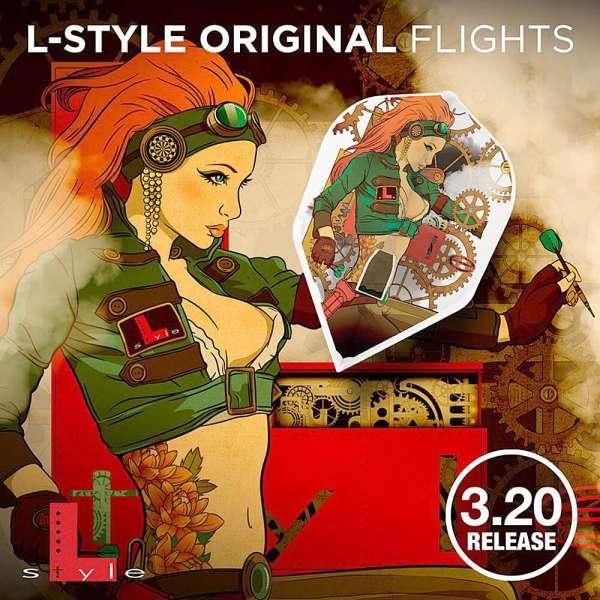 L-Style - Champagne Flight - Steam - Shape