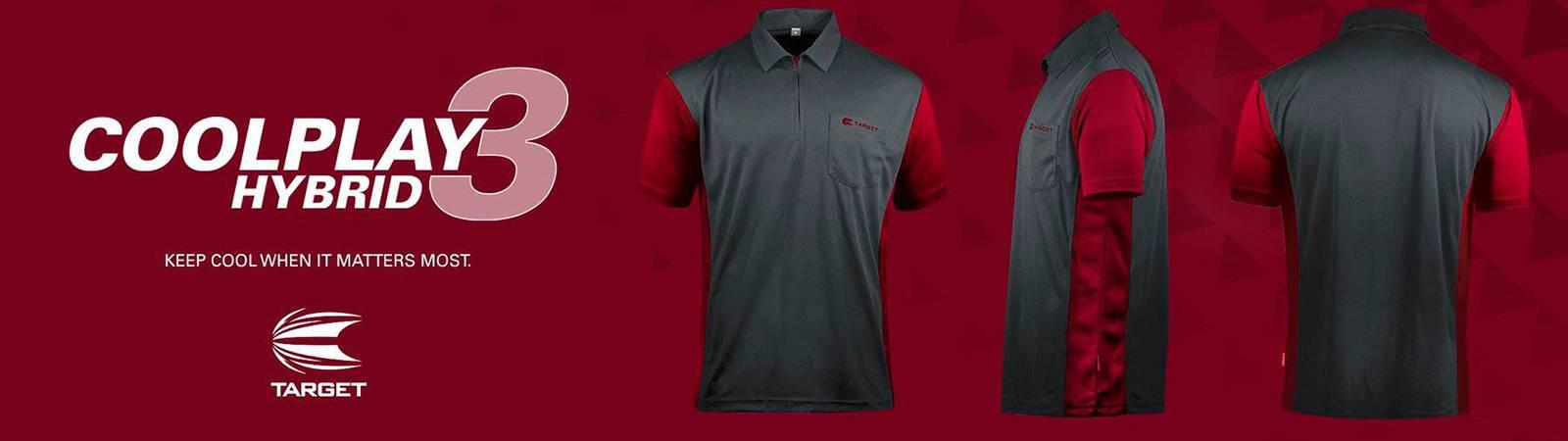 Target Coolplay 3 Hybrid Dartshirts