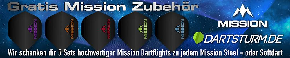 Gratis Mission Goodie Bag zu jedem Mission Dart