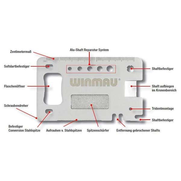 Winmau - Darts Multi-Tool