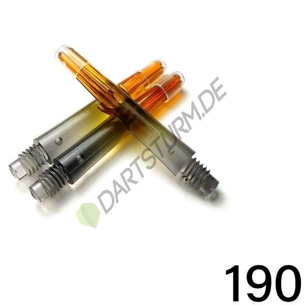 L-Style - L-Shaft Lock Straight N9 TwinColor - Schwarz Orange