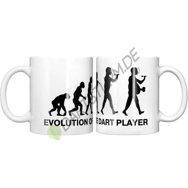 DartSturm.de - Darttasse - Evolution Dartspieler