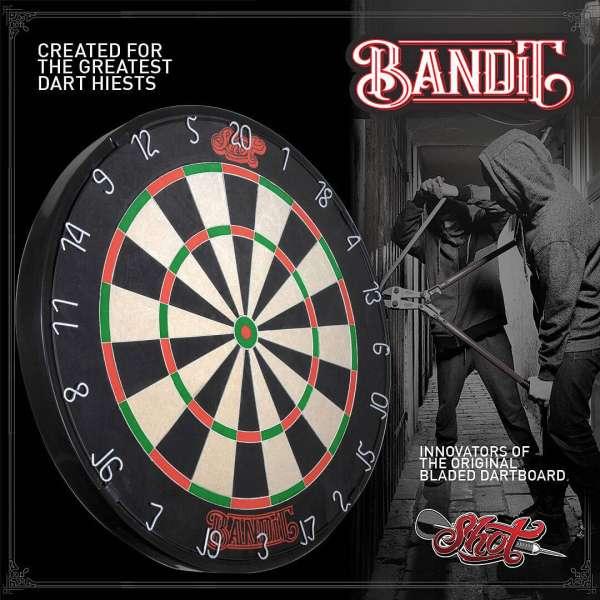Shot! - Bandit Dartboard