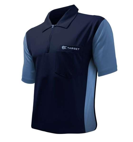 Target - Coolplay Hybrid 3 Dartshirt - Navy/Blau