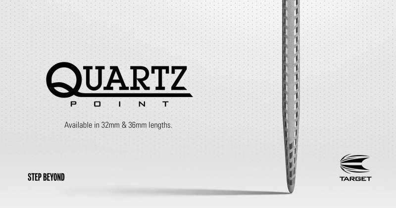 Target Quartz Steeldartspitzen
