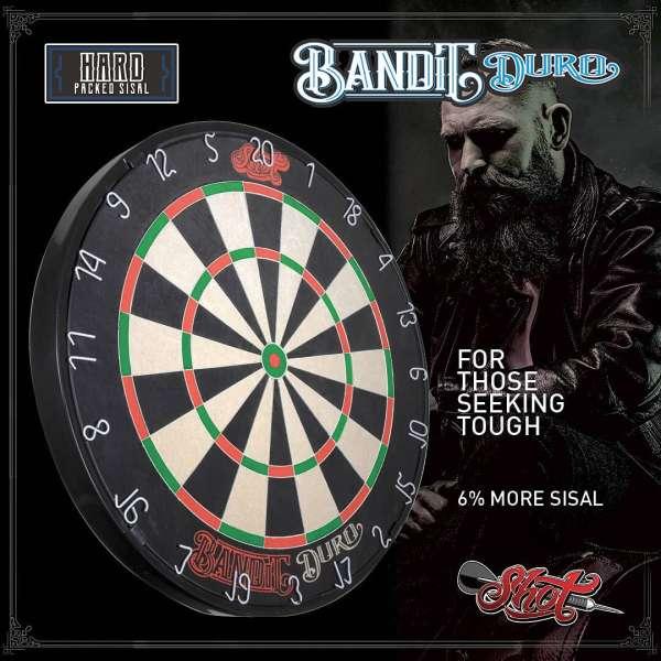 Shot! - Bandit Duro Dartboard