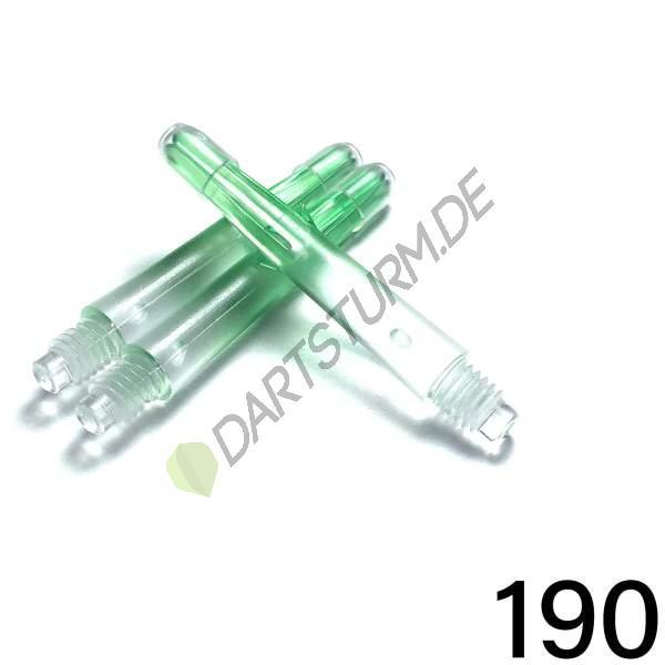 L-Style - L-Shaft Lock Straight N9 TwinColor - Transparent Grün