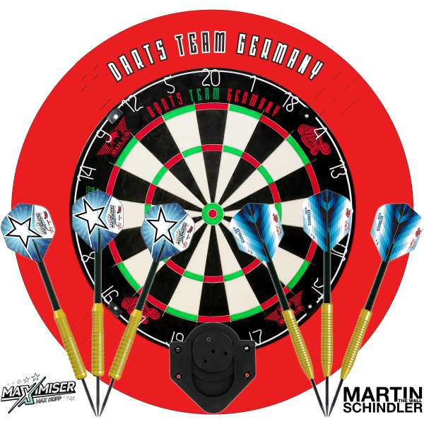 Bull's NL - Team Germany Darts Set