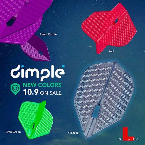 L-Style - Champagne Flight Pro - Dimple - Shape