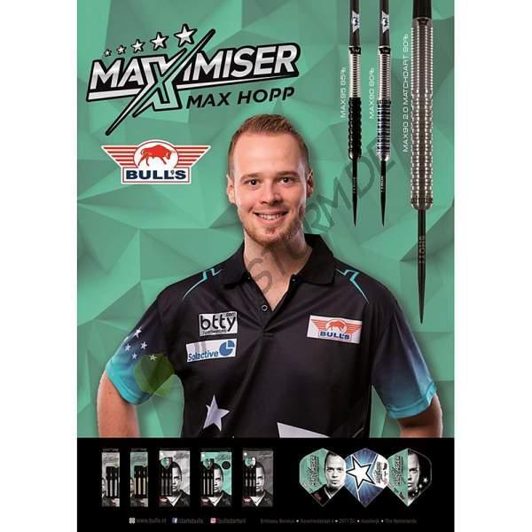 Bull's NL - Max Hopp 2020 A1 Poster