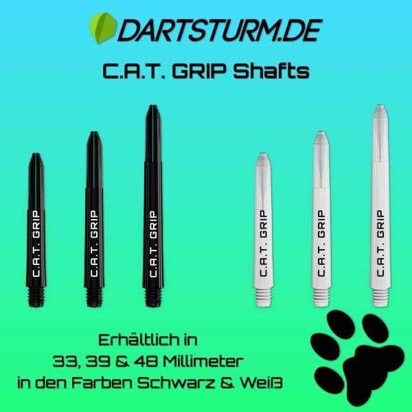 DartSturm.de - C.A.T. Grip Shafts - Weiß