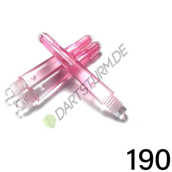L-Style - L-Shaft Lock Straight N9 TwinColor - Transparent Pink