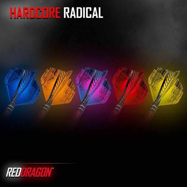 Red Dragon - Hardcore Radical Tire Flight - Standard