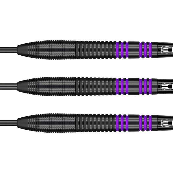 Target - Vapor-8 - Schwarz Lila - Steeldart