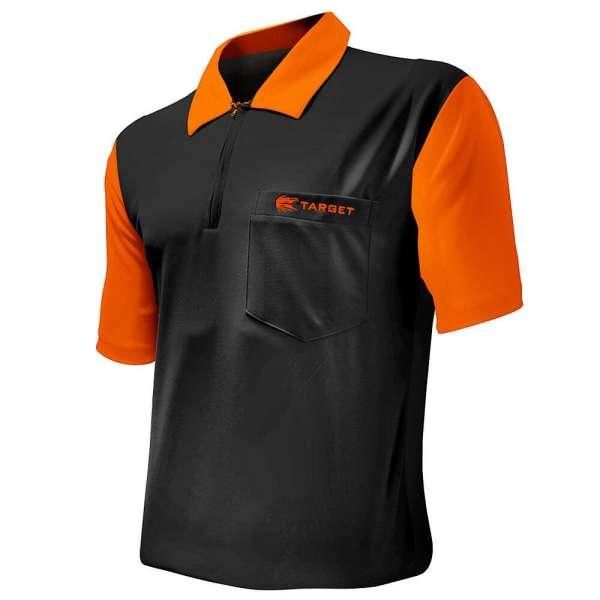 Target - Coolplay Hybrid 2 Dartshirt - Schwarz/Orange