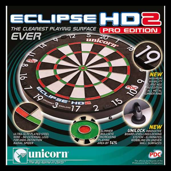 Unicorn - Eclipse HD2 Pro Dartboard