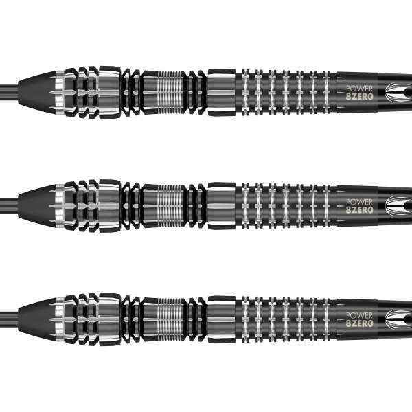 Target - Phil Taylor Power 8zero Black Titanium Typ D - Steeldart