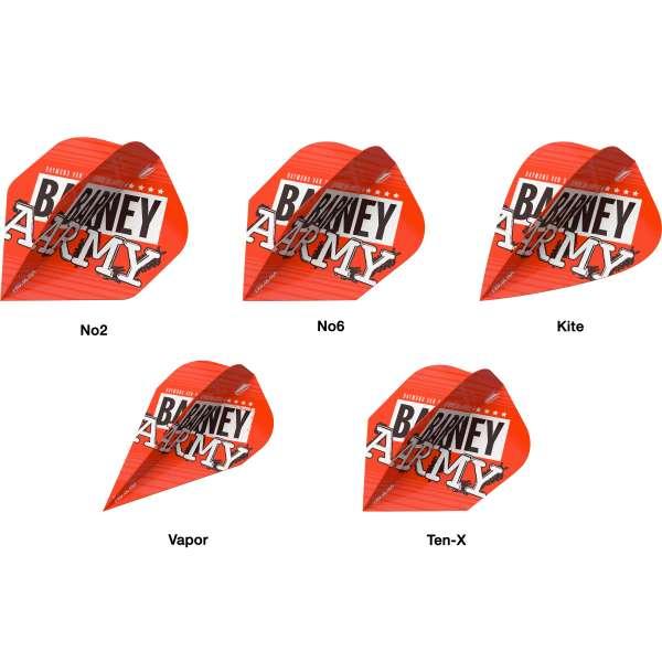 Target - RvB Barney Army Flight - Orange