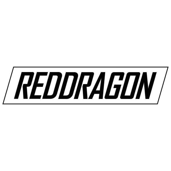 Red Dragon - Sponsorenaufkleber