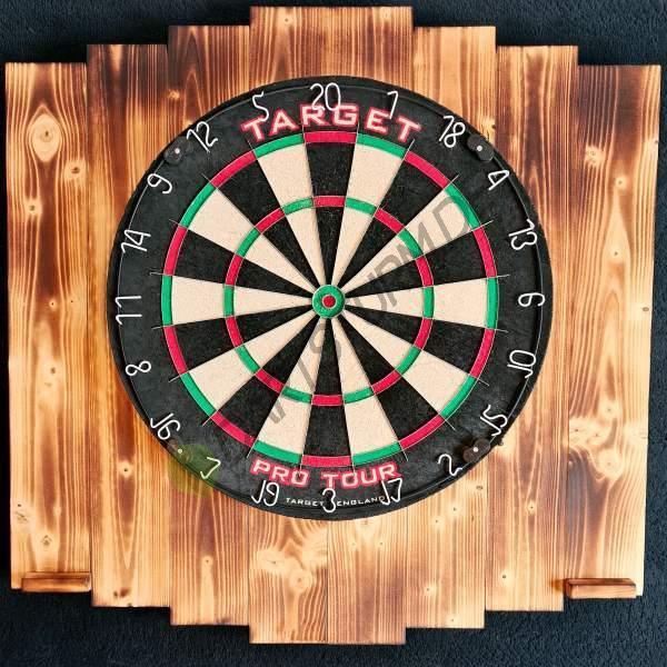 DartSturm.de - Dartboard Backboard Holz