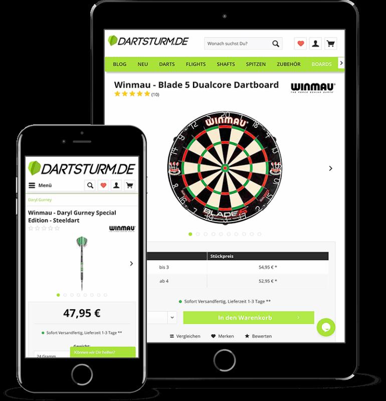 DartSturm.de App