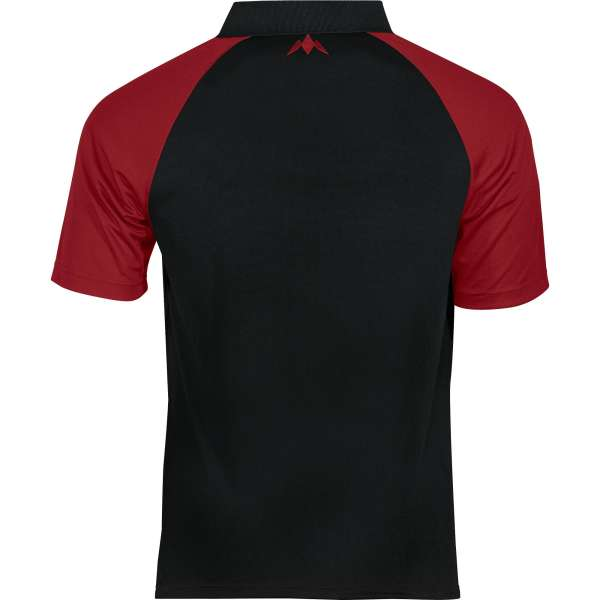 Mission - Exos Cool Dartshirt - Schwarz/Rot