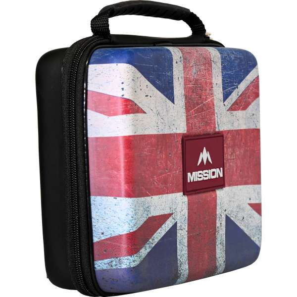 Mission - Freedom Luxus Dartkoffer Union Jack