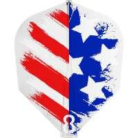8 Flight - USA Dartflight - Shape