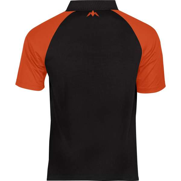 Mission - Exos Cool Dartshirt - Schwarz/Orange