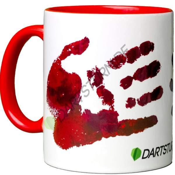 DartSturm.de - Bloody Hand Tasse