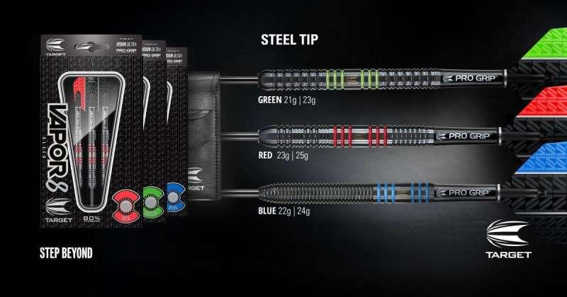 Target Vapor8 Steeldarts