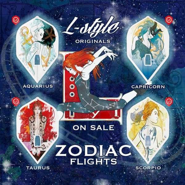 L-Style - Champagne Flight - Zodiac Aquarius - Standard