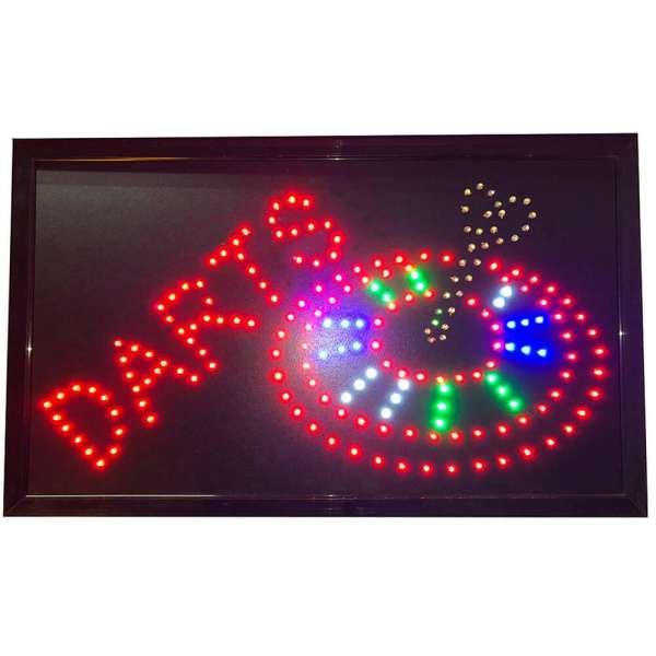 Bull's NL - Dart LED Schild