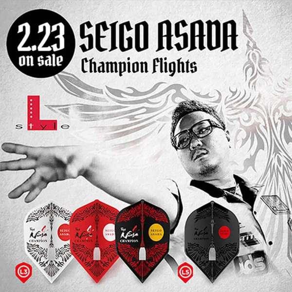 L-Style - Champagne Flight Pro - Seigo Asada Champion - Shape