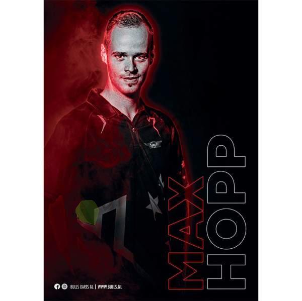 Bull's NL - Max Hopp 2021 A3 Poster