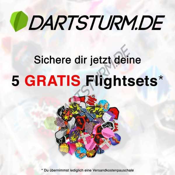 DartSturm.de - 5x Gratis Flightsets