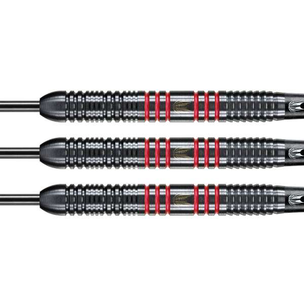 Target - Vapor-8 - Schwarz Rot - Steeldart