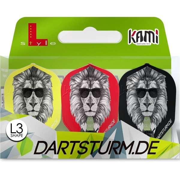 L-Style - Champagne Flight Kami - Cool Lion - Shape