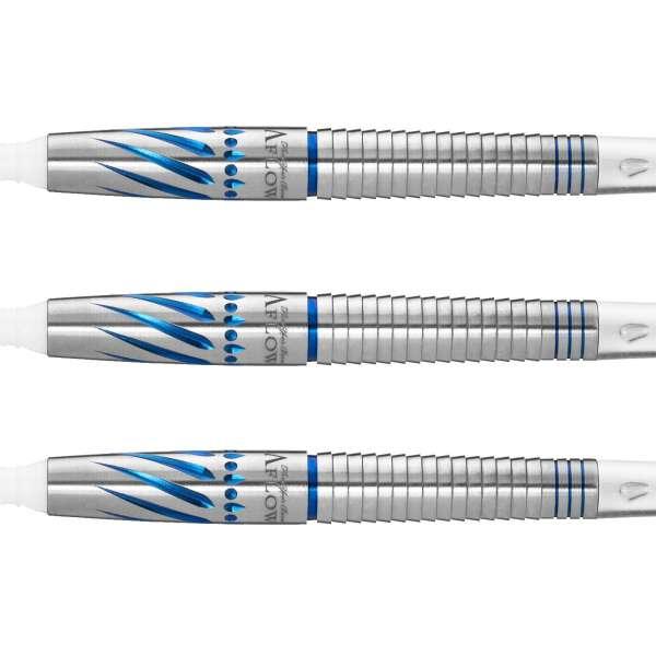 Dynasty - A-Flow Black Line - Larry Butler III Blue - Softdart