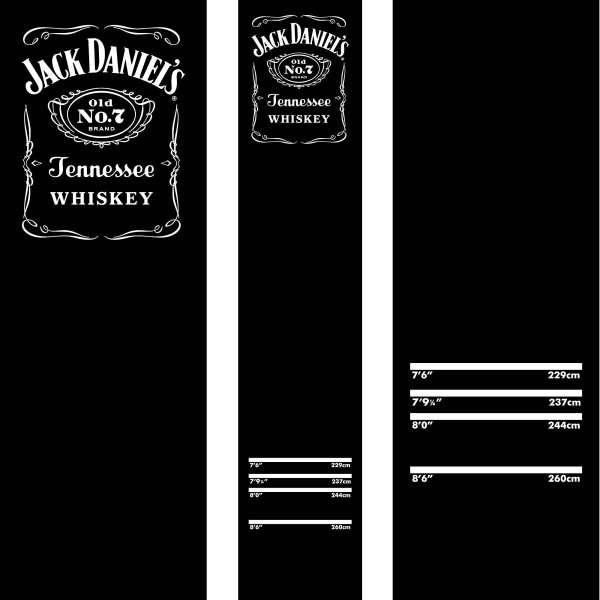 Mission - Jack Daniel's Teppichmatte