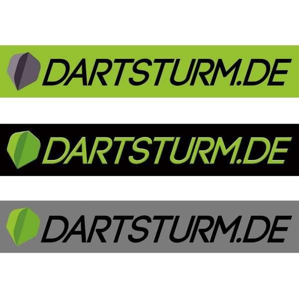 DartSturm.de - Aufkleber 21x3,5cm