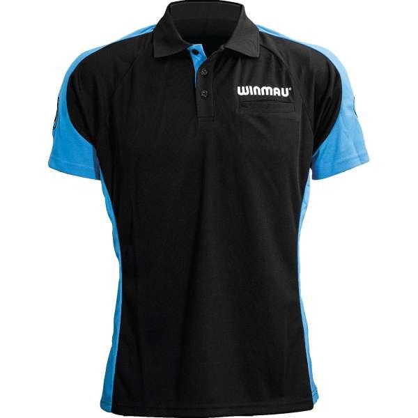 Winmau - WinCool 3 Dartshirt - Schwarz/Blau