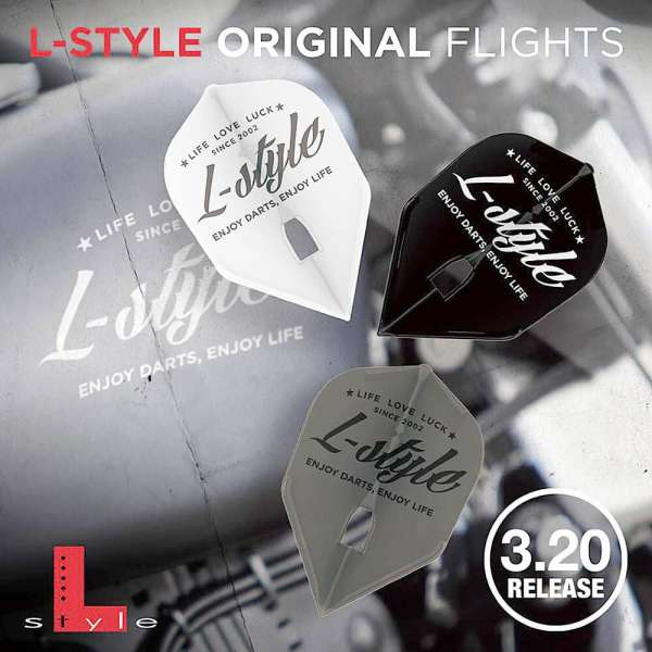 L-Style - Champagne Flight - Vintage Logo - Shape