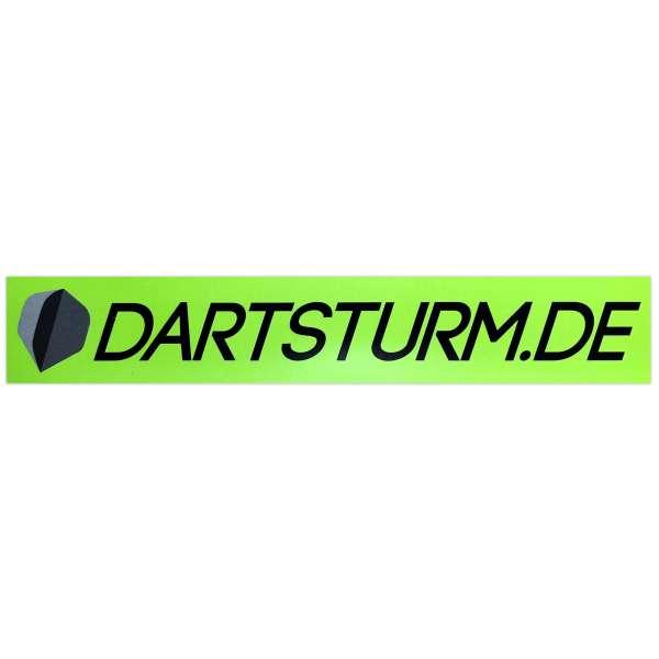 DartSturm.de - Aufkleber Grün