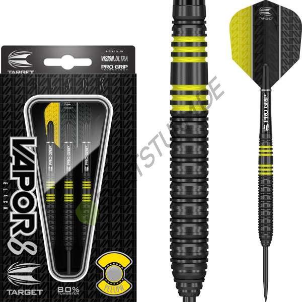 Target - Vapor-8 - Schwarz Gelb - Steeldart