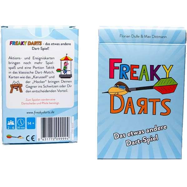 DartSturm.de - Freaky Darts - Kartenspiel