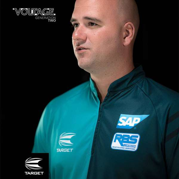 Target - Rob Cross 2021 Coolplay Collarless Shirt