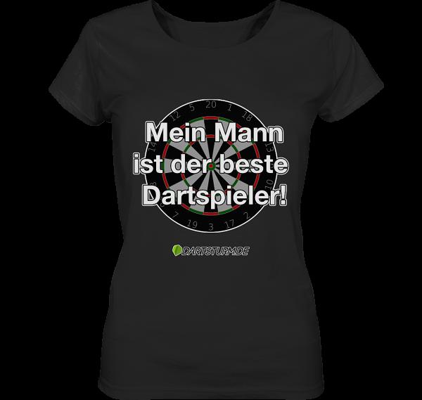 DartSturm.de - Ladies T-Shirt - Bester Dartspieler
